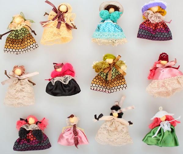 современные мини-куклы