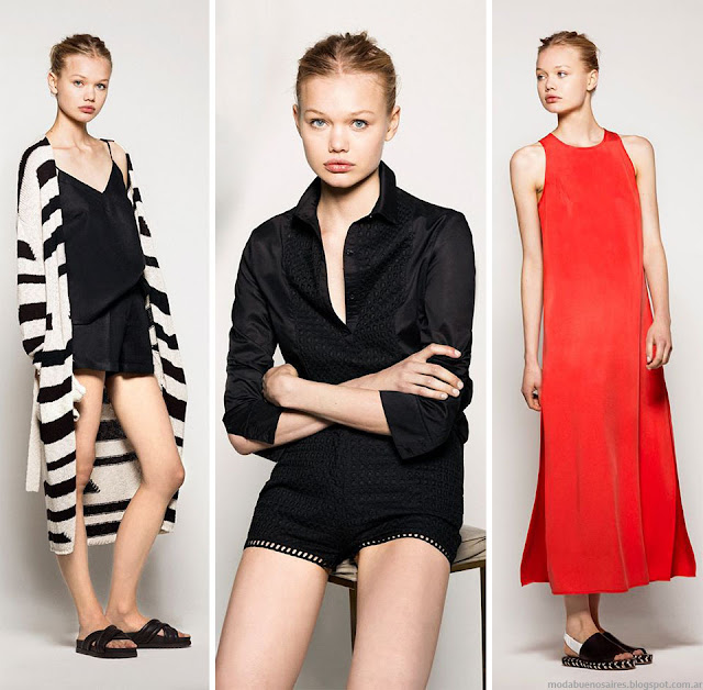 Moda 2016 Akiabara. Moda primavera verano 2016 monos, vestidos, shorts verano 2016.