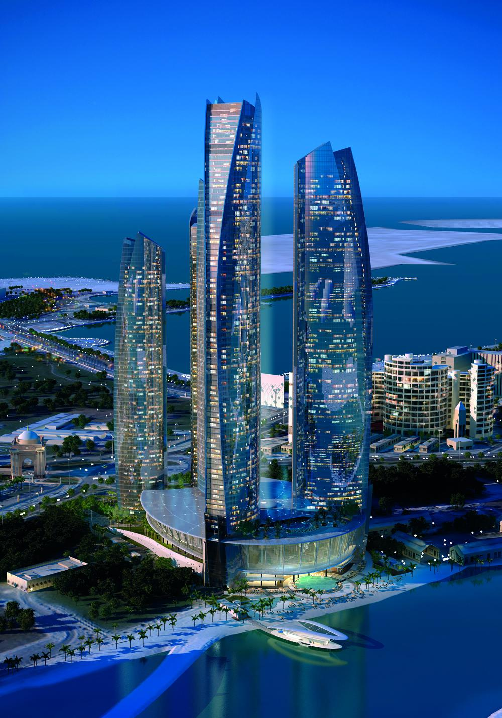 World of architecture jumeirah at etihad towers abu dhabi for Best architecture hotels in the world