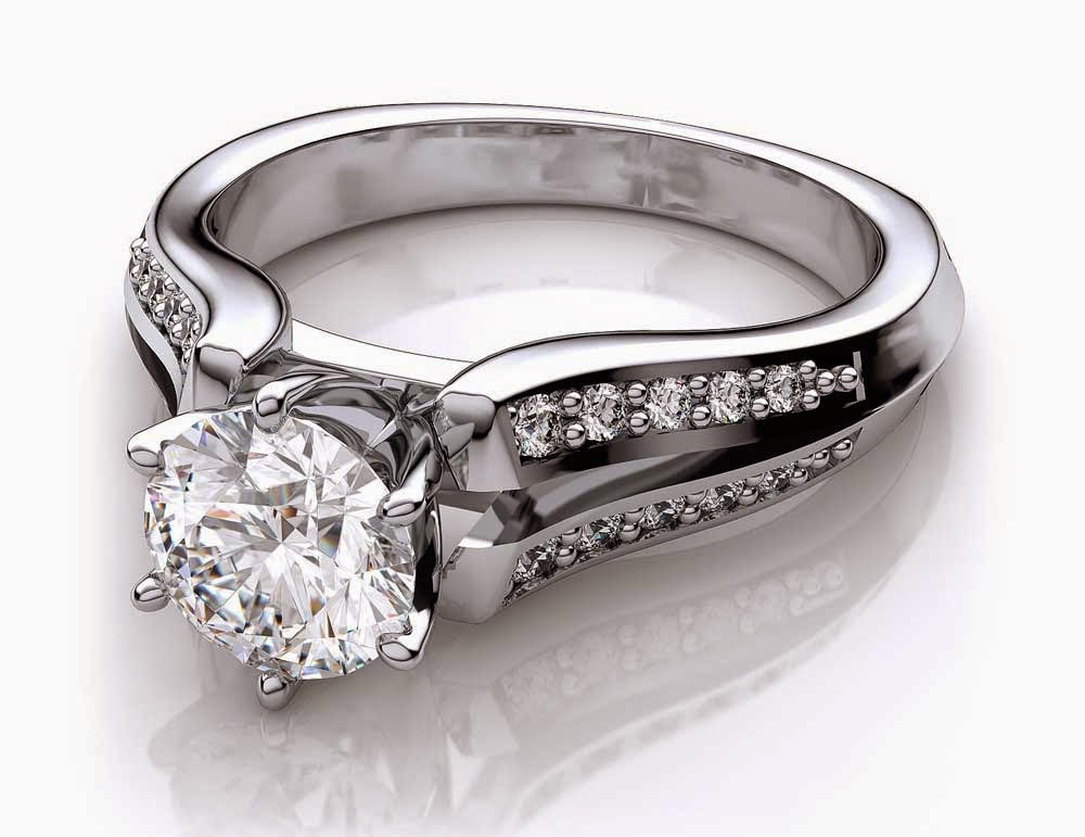 White Gold Diamond Wedding Rings Settings Only pictures hd