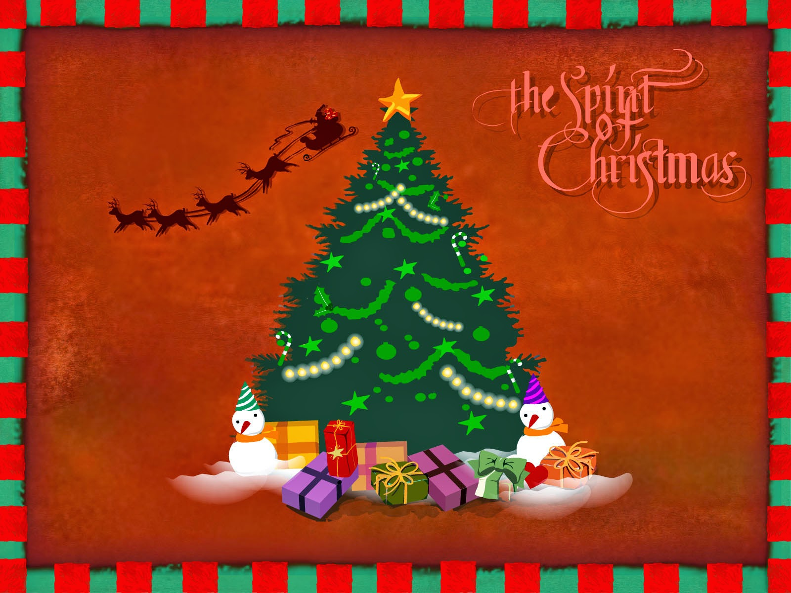 Xmas The Red HD Wallpaper