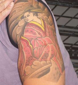 tattoo masculina no braço