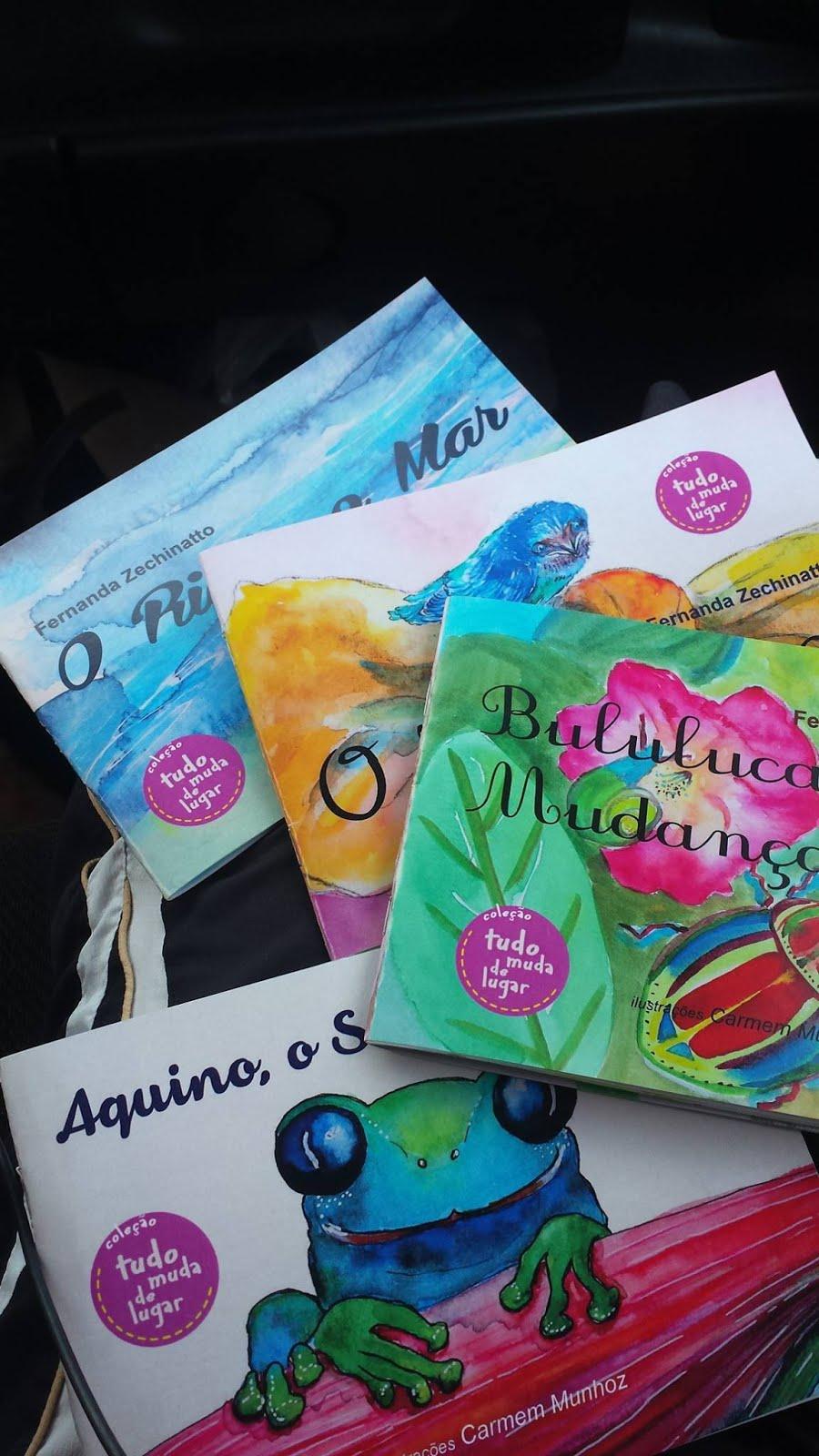 Livro Infantil - Autora Fernanda Zechinatto