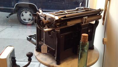 Underwood Typewriter II 1930s Restored 2012 Back