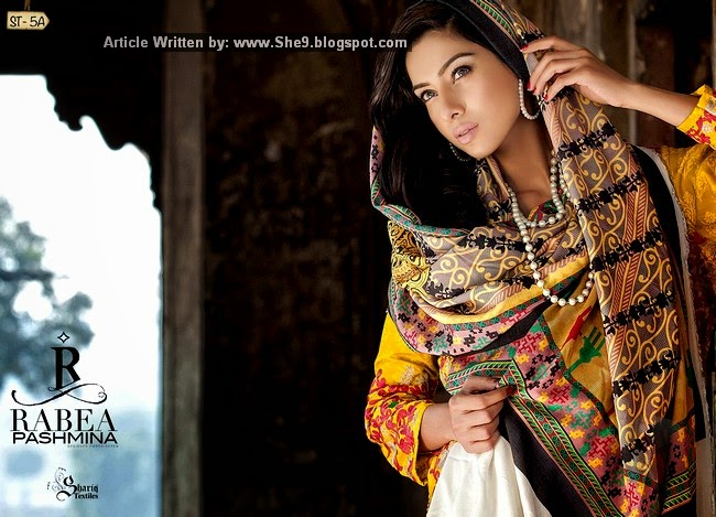 Rabea Pashmina Designer Collection