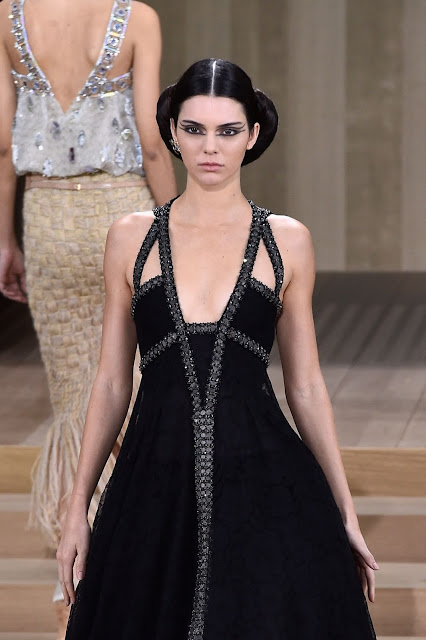 Fashion Model, @ Kendall Jenner At Chanel Haute Couture Spring Summer 2016 Fashion Show In Paris