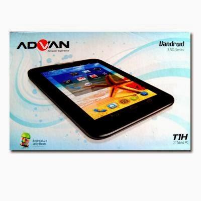 Advan Vandroid T1-H – Harga Spesifikasi Tablet Android Dual Core