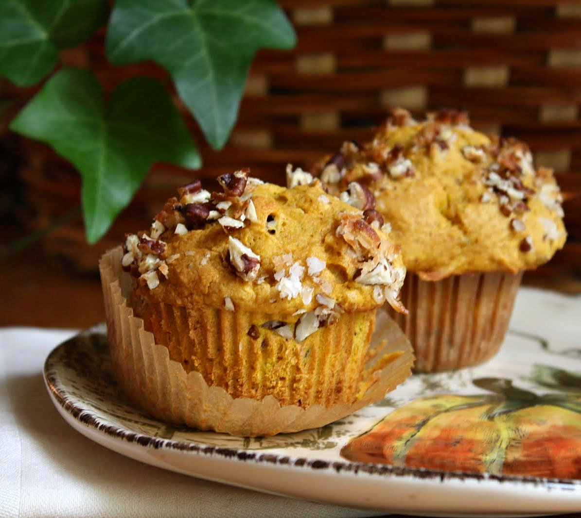 Jane\'s Sweets & Baking Journal: Fluffy Pumpkin Muffins with Coconut ...