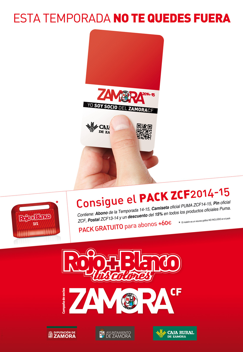 ZCF cartel campaña socios 2014-15