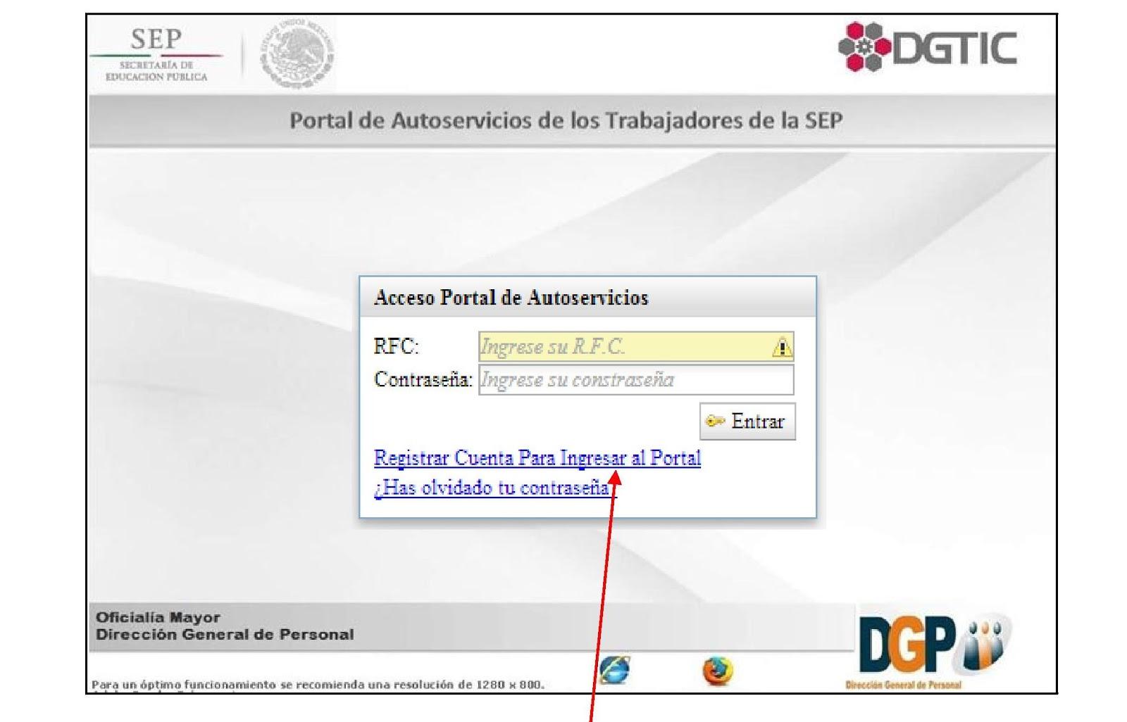 Cómo acceder al portal de autoservicios de los trabajadores de la Secretaría de Educación (SEP)