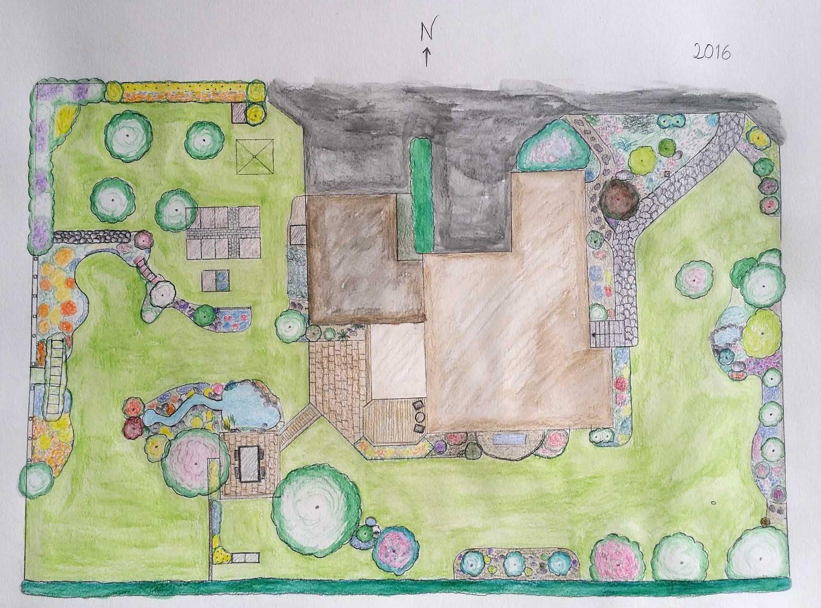 Trädgårdplan 2016