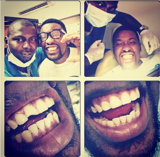 Photos: Cool FM's OAP, Dotun Gets A Tooth Recapping