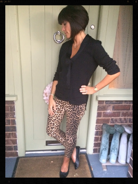 My Midlife Fashion, Leopard Print, Zara, Animal Print, Ballet Pumps, Mango