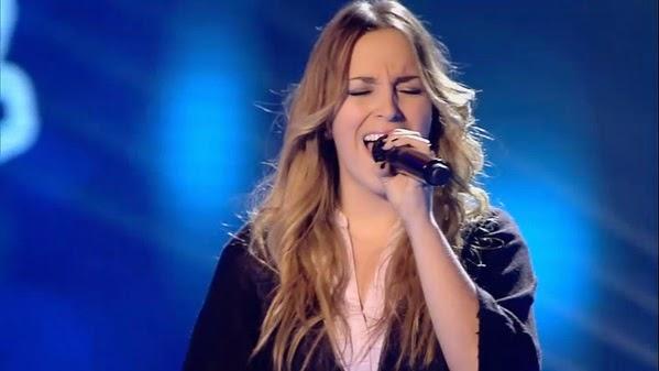 Lucía canta Vuelvo a verte