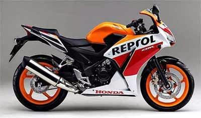 Gambar CBR 250 Repsol 2014