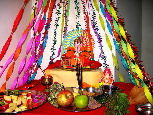 Ganesha Chaturthi 2011 Decoration Ideas : Photos