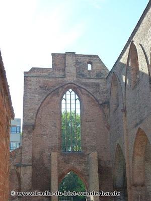 Berlin, bilder, verschiedene, bekannte, unbekannte orte, Sehenswürdigkeiten, kirche, klosterkirche, alex, ruine
