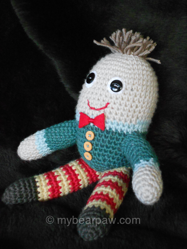 Knitting Pattern For Humpty Dumpty : myBearpaw: Humpty Dumpty Amigurumi