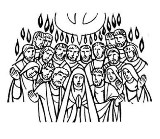 Portal Escuela Pentecostes: Maria y los apostoles reciben al ...