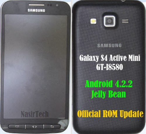I8580UBUANB1 Android 4.2.2 Jelly Bean Firmware for Galaxy S4 Active