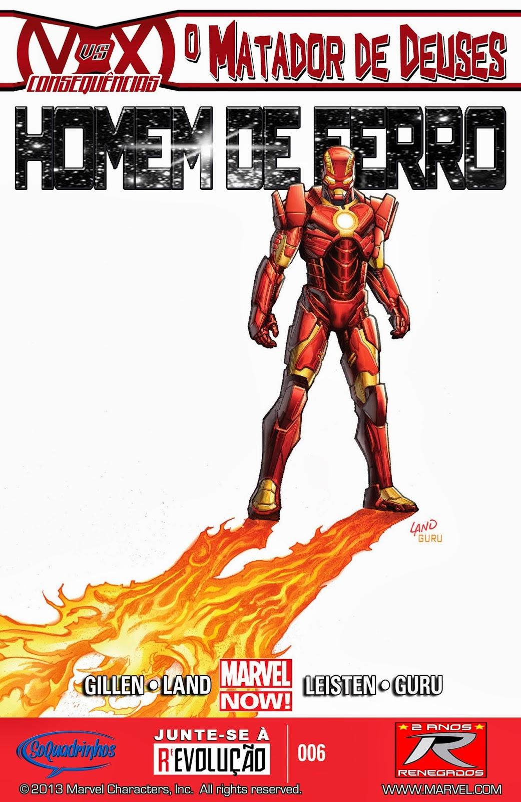 Nova Marvel! Homem de Ferro v6 #6