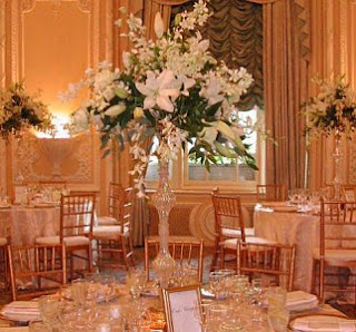 Beautiful Tall Fall Wedding Centerpieces