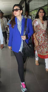 Kareena Kapoor Khan Snapped at Mumbai Airport Rare Photos