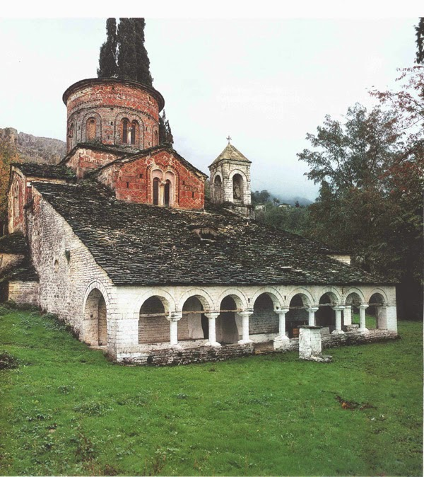 Church of Dormition of Theothokos, Albania dans images d'Église Labove