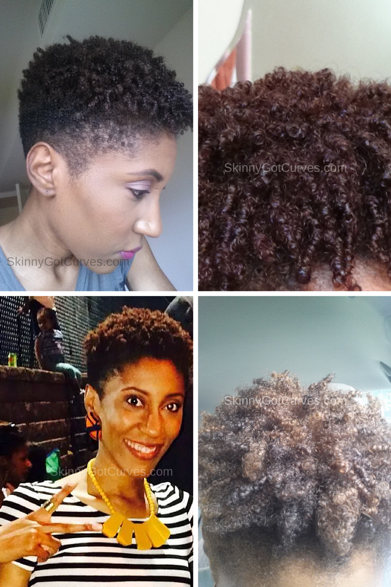 4C Hair Wash And Go Success Finally Skinny Got Curves