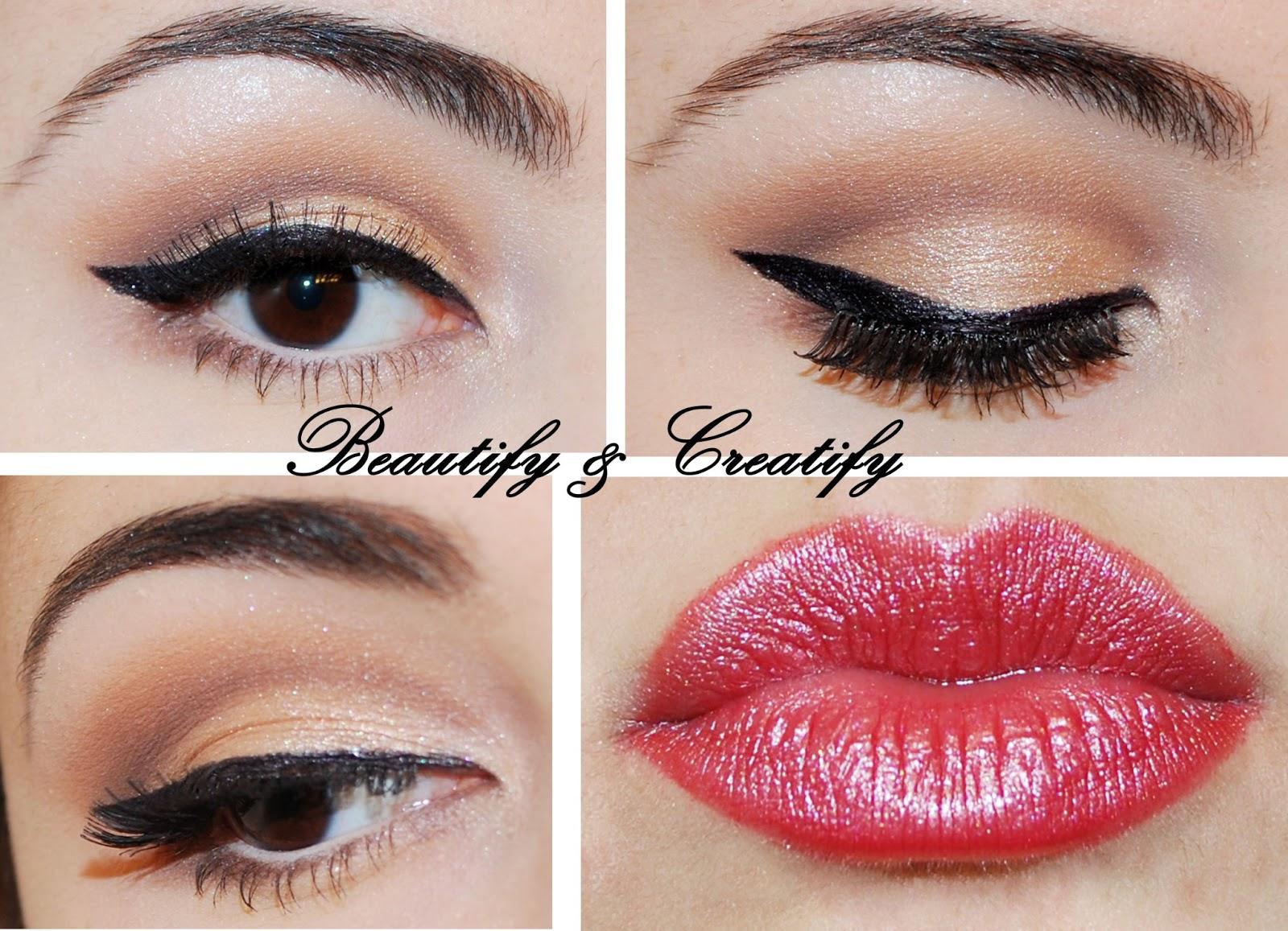 Beautify And Creatify Elegant Neutral Make Up Look Tutorial