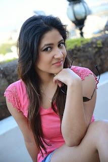 Actress Prabhjeet Kaur  Pictureshoot Gallery in Denim Shorts  28.JPG