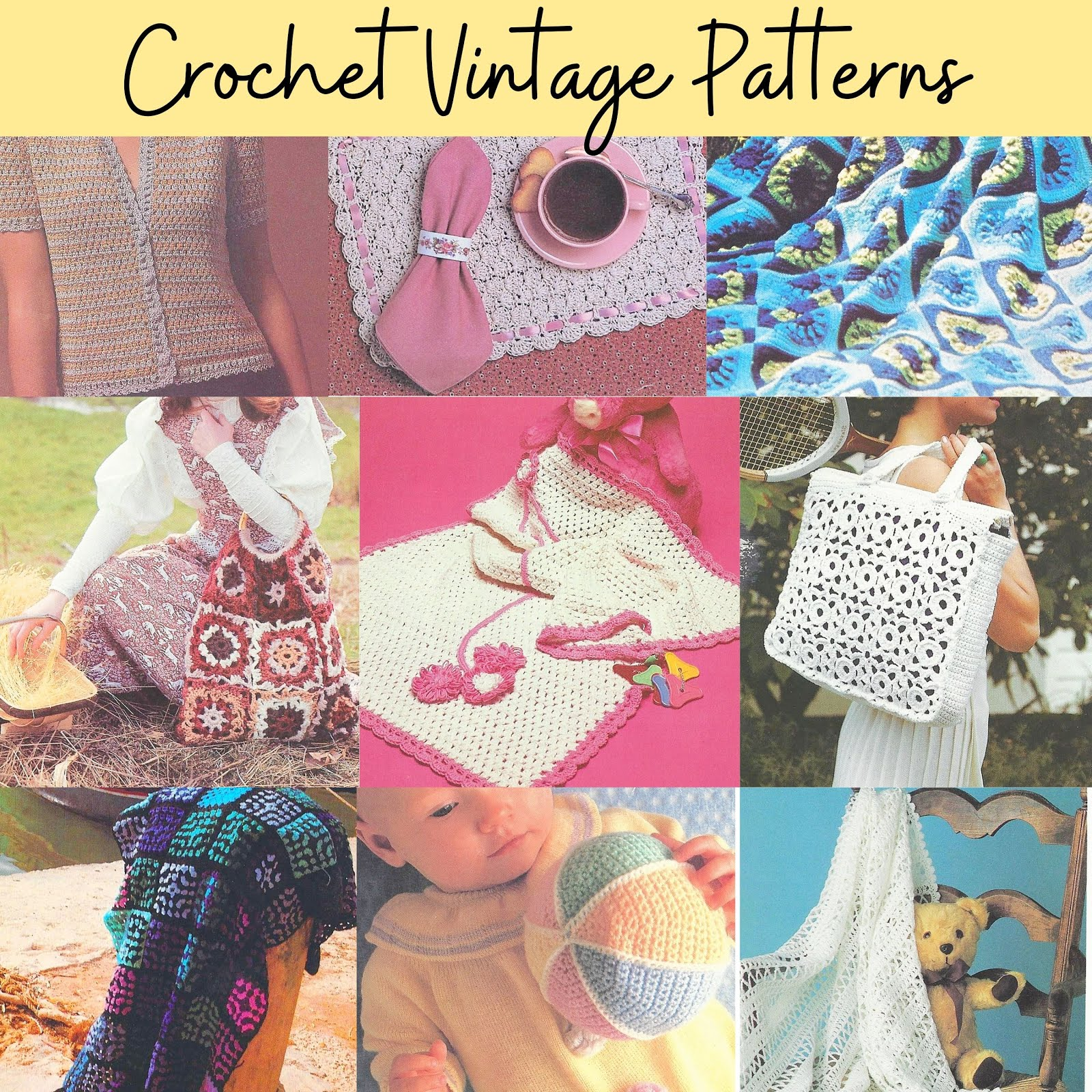 Vintage Patterns - Click for Details