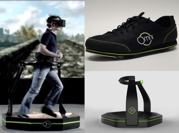 omni virtuix, shoes, treadmill