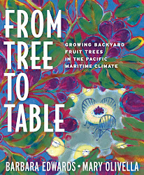 My first published book - From Tree to Table now available!