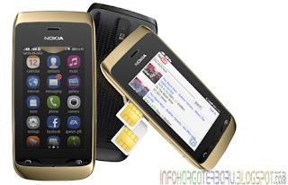 Harga Nokia Asha 309 Spesifikasi Hp 2012