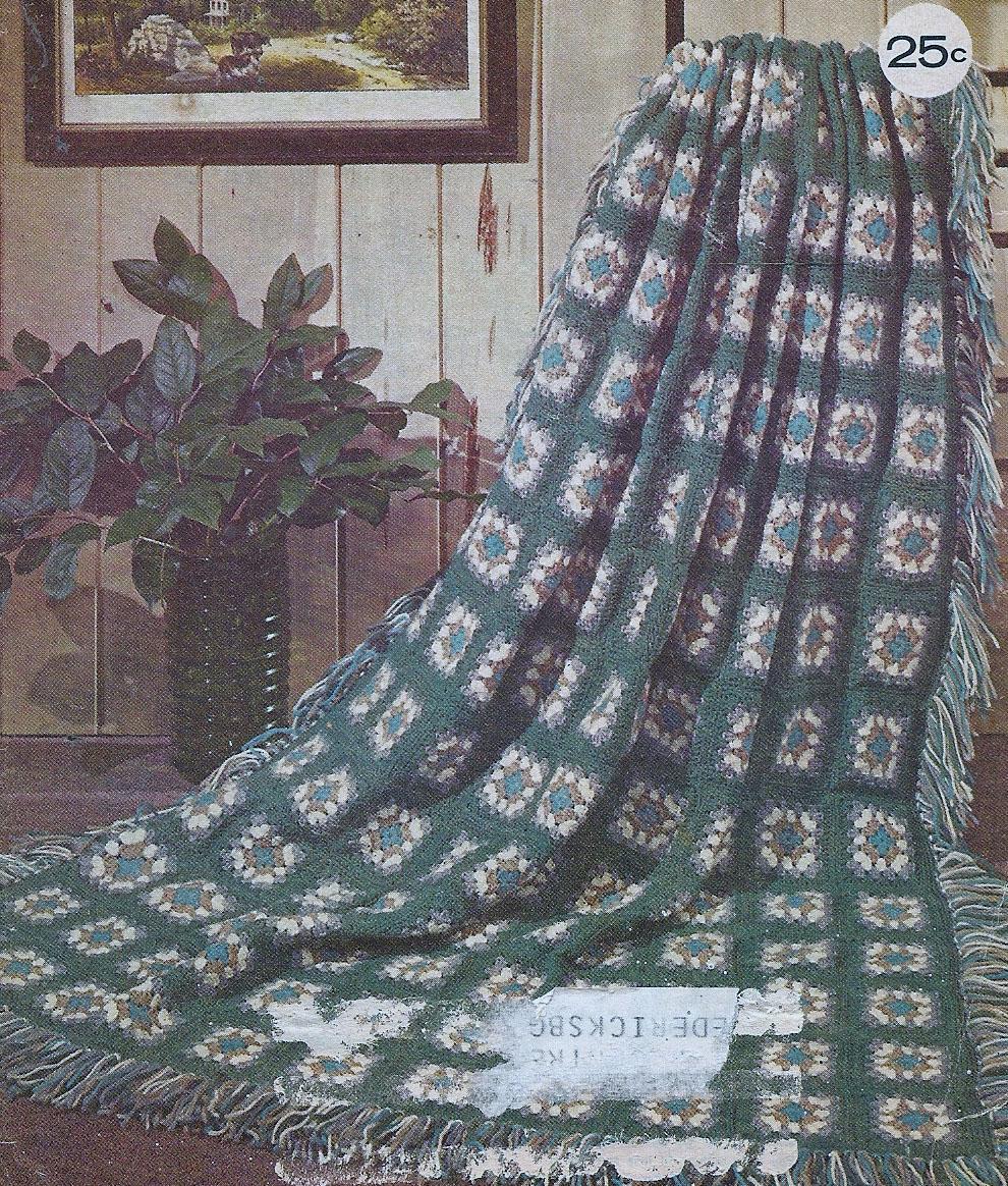Vintage Knit Crochet Shop Talk: Modern Granny Square Crochet Free ...