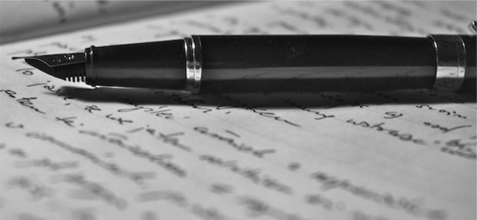 Acordei com vontade de escrever poesia