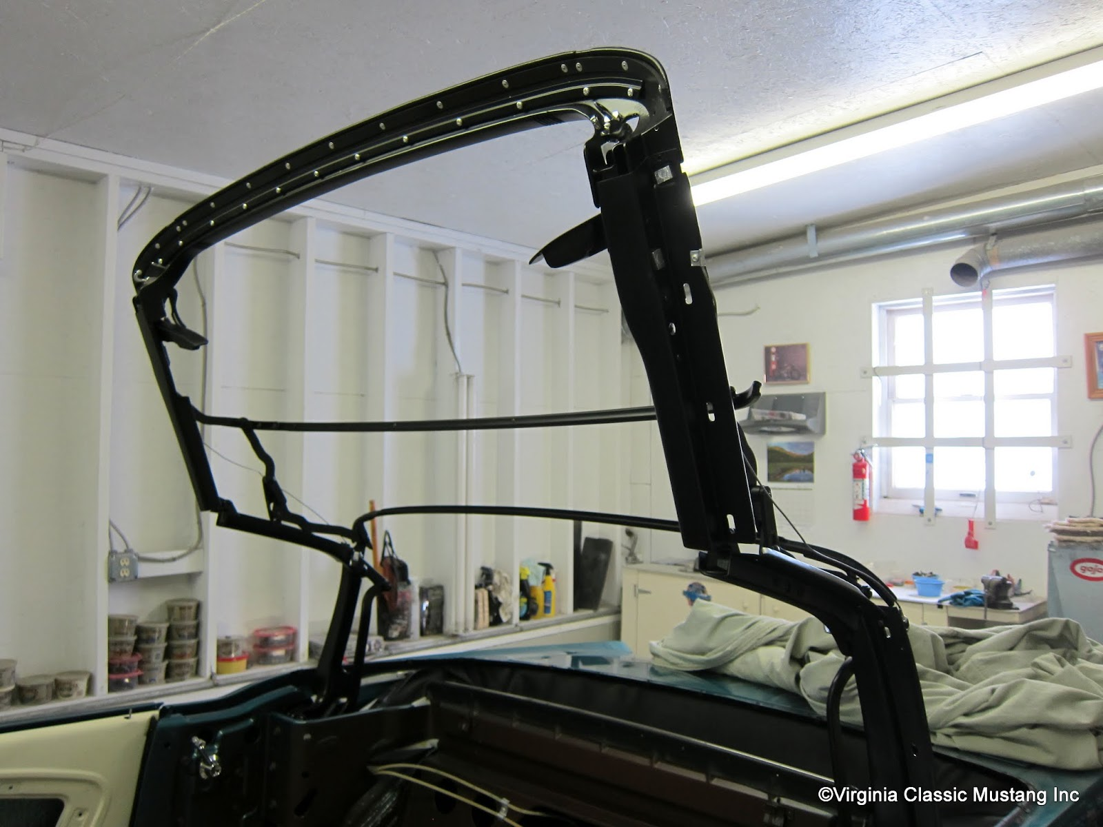 convertible top replacement instructions