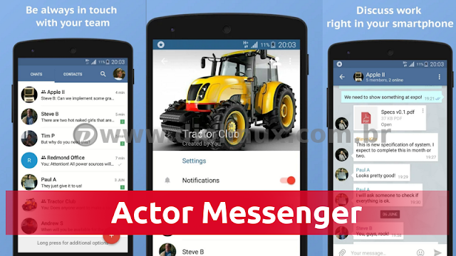 Actor Messenger