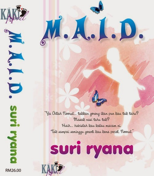 Sinopsis novel M.A.I.D karya Suri Ryana, review novel M.A.I.D penulis Suri Ryana, kisah orang gaji MAID bercinta dengan majikan, gambar novel M.A.I.D, drama TV3 adaptasi novel M.A.I.D, pelakon drama MAID TV3, Zul Ariffin – Harris, Mr F, fussy, Ayda Jebat - Noorul