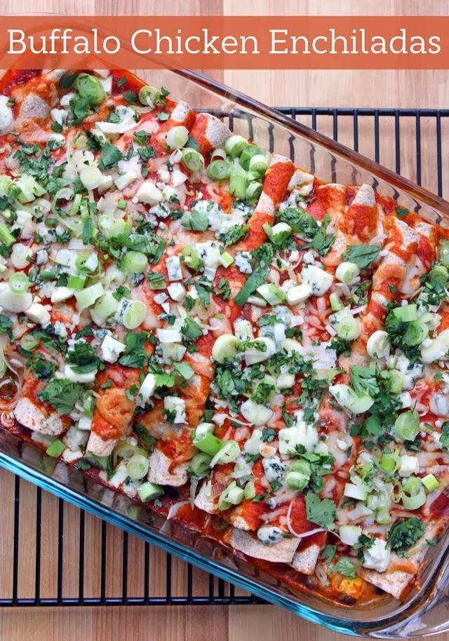 Delicious Spicy Buffalo Chicken Enchilada Recipe Perfect For The Big Game #MyPicknSave, #shop, #cbias