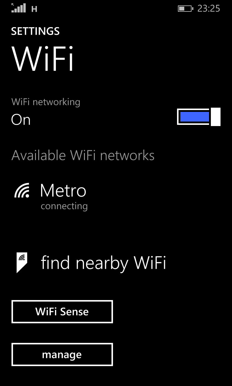 free wifi in the metro