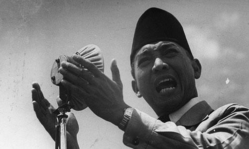 Sukarno Presiden Indonesia Pertama