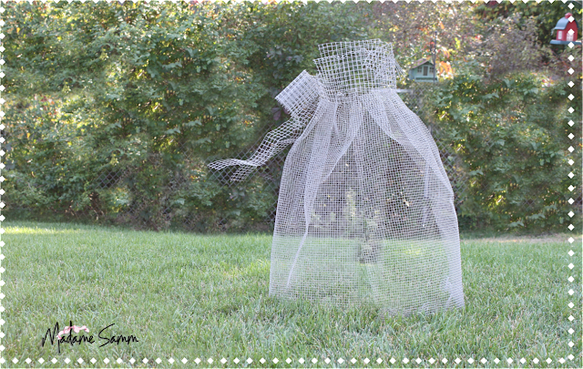 Be different act normal chicken wire ghost tutorial