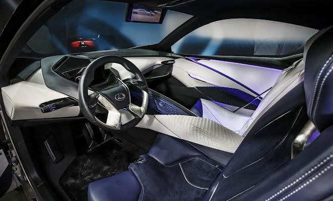 Lexus LF-SA interior