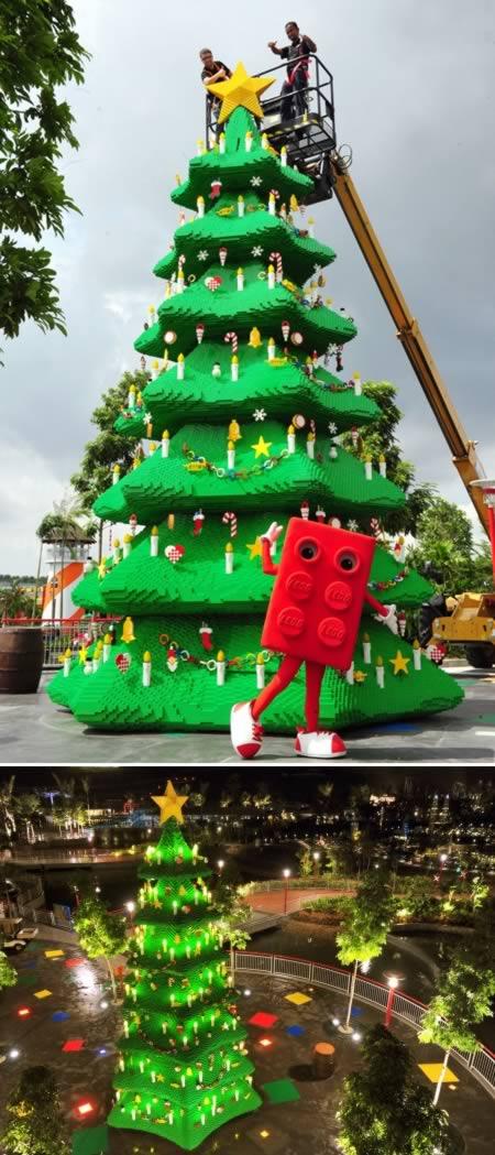 6 El arbol de lego mas grande del mundo- Malasia