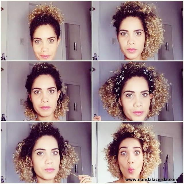 Oi amores, Gente agora que meu cabelo voltou ao natural me pego em situações bem complicadas na hora de arruma-los já que meu cabelo tem um volume que merece ser estudado kkkk Mas aos poucos estou conseguindo domina-lo.