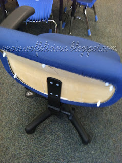 Photo of Back of Chair