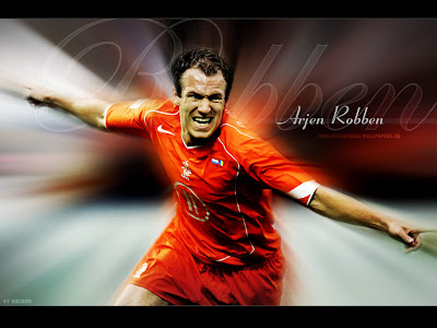 Arjen Robben goal celebrations wallpaper