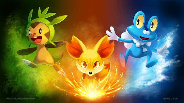Pokemon X and Y new starter